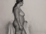 pencil on paper, 76x103